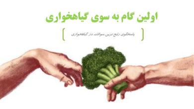 Photo of دانلود کتابچه اولین گام به سوی گیاهخواری